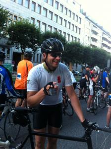 Cyclist aus Altona: Patrick