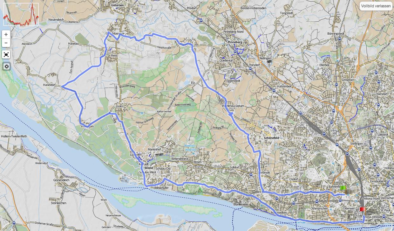 65km ab Altona