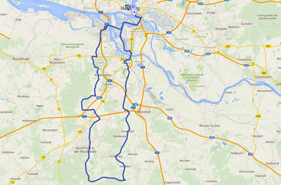 Cyclassics Strecke 2016