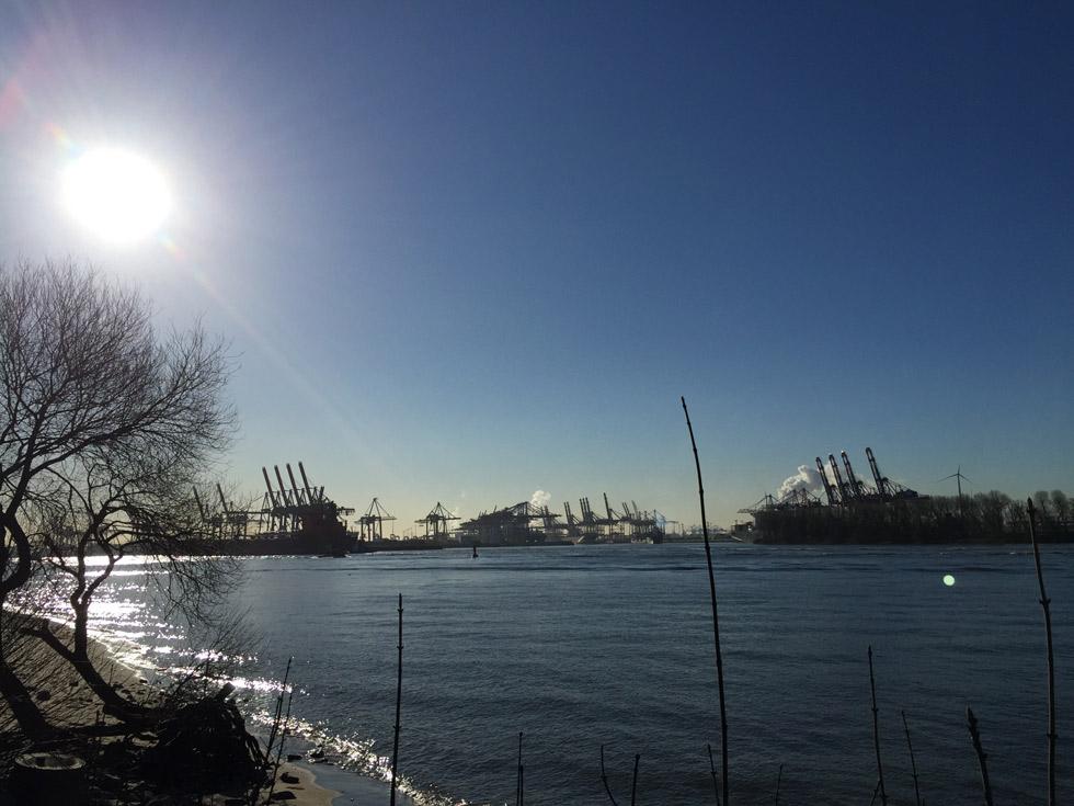 Die Vorbereitung Berlin Halbmarathon fand vor allem an der Elbe statt.