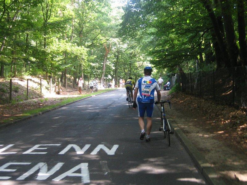 Kösterberg - Anstieg für das Rennrad