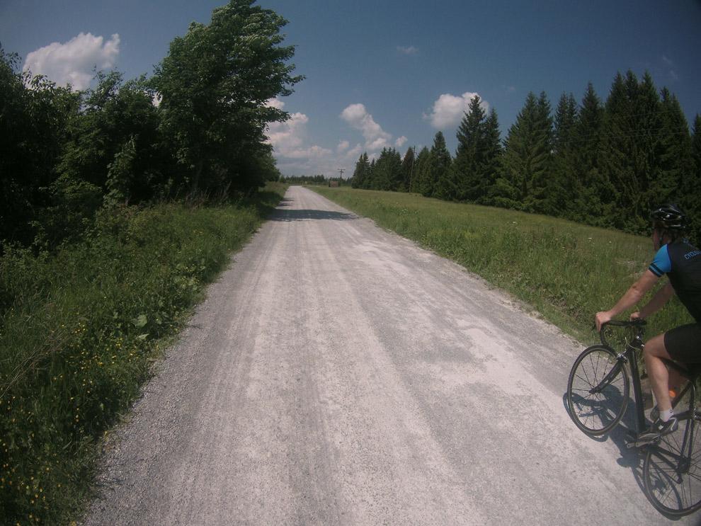leere Straßen beim Harz Trainingslager 2016