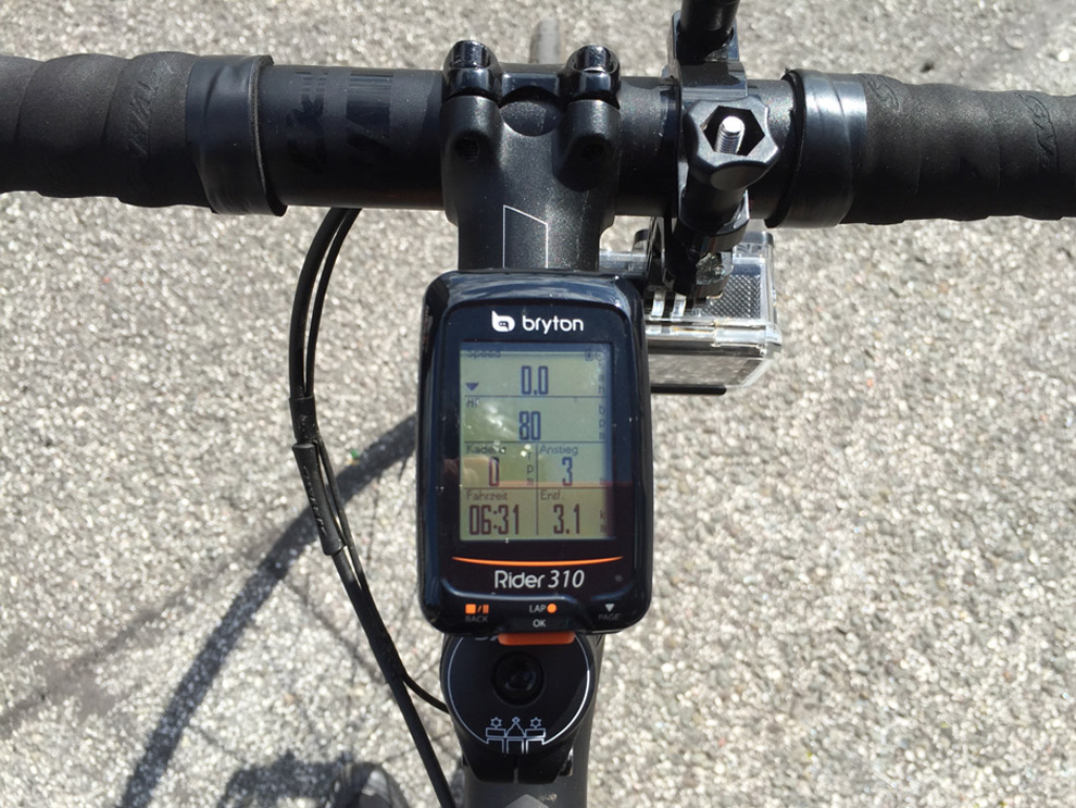 Test Bryton Rider 310