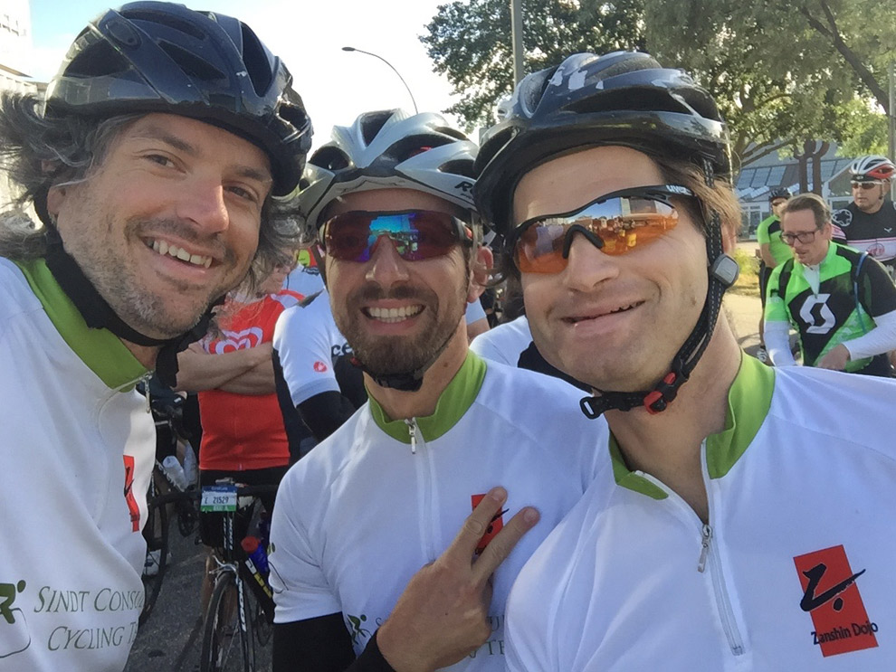 Im Startblock der Cyclassics 2016