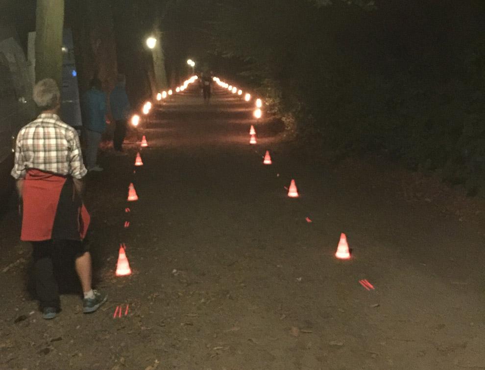 Stimmungsvoller Zieleinlauf beim Mottenburger Meile 2016