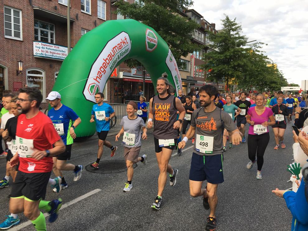 3. PSD Halbmarathon in Hamburg Wandsbek