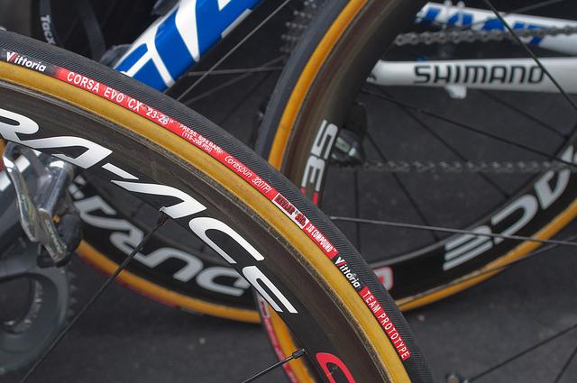 Rennrad aufpumpen